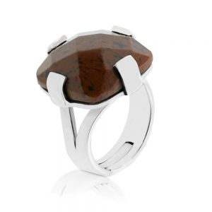 SQUARE TIGRILLO RING