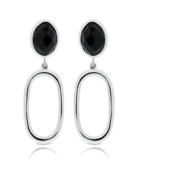 CAPRI EARRINGS ONYX
