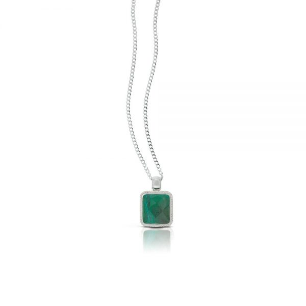 NELLY NECKLACE CHRYSOCOLLA