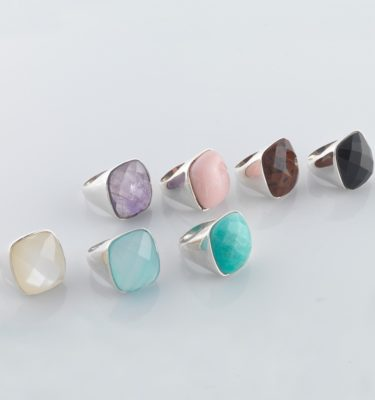 Rain Ring - Sterling Silver 925