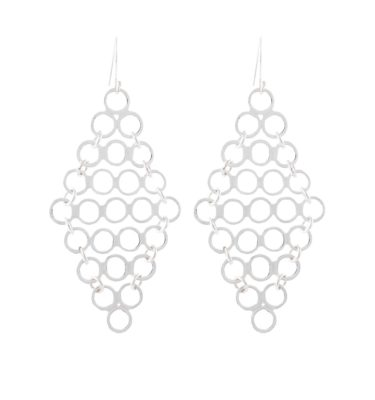 Silver Toss Earrings - Sterling Silver 925