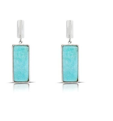 Drop Earrings - Sterling Silver 925